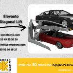 Diagonal lift en su estacionamiento